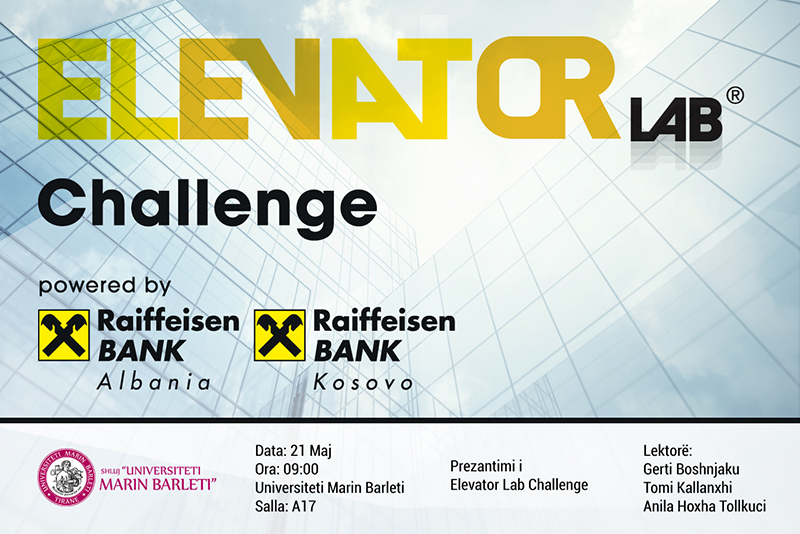 Elevator LAB Challenge, në UMB