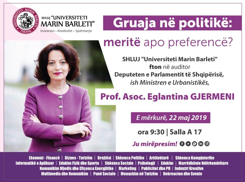 Gruaja në politikë: meritë apo preferencë?