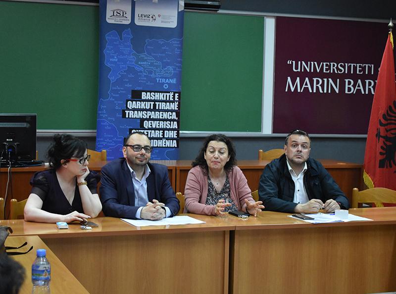 Bisedë në UMB: Qeverisja vendore dhe reforma administrative