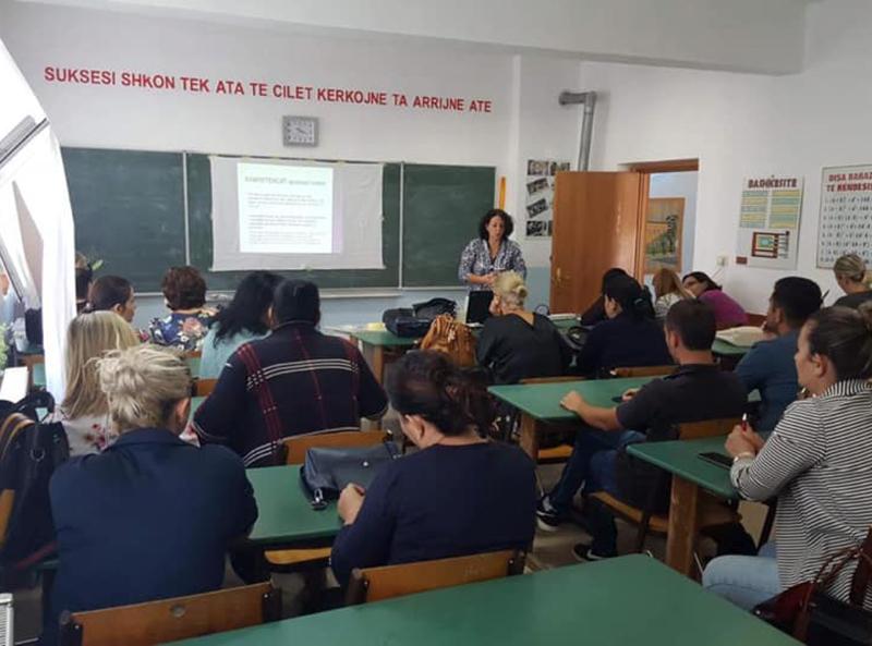 trajnimi me kredite i Mësuesve dhe Drejtuesve Arsimore në Burrel