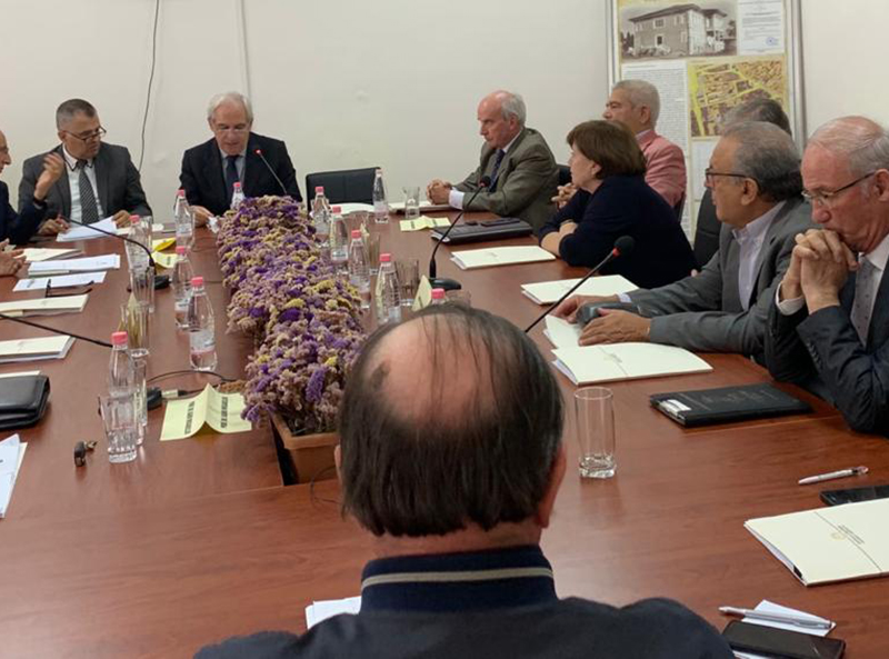 Takim me Rektorë të universiteteve të vendit
