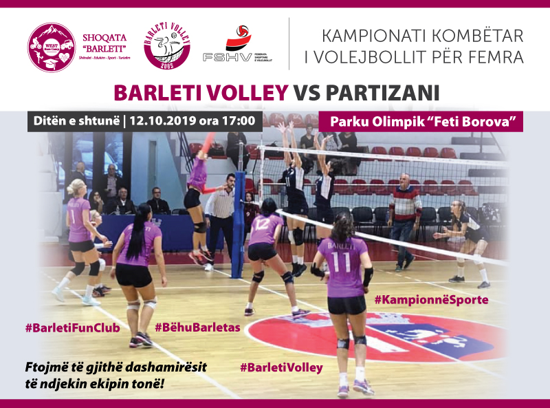 Barleti Volley vs. Partizani