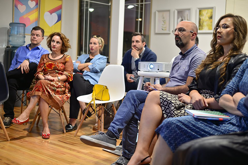 Takim i ekosistemit të startup-eve