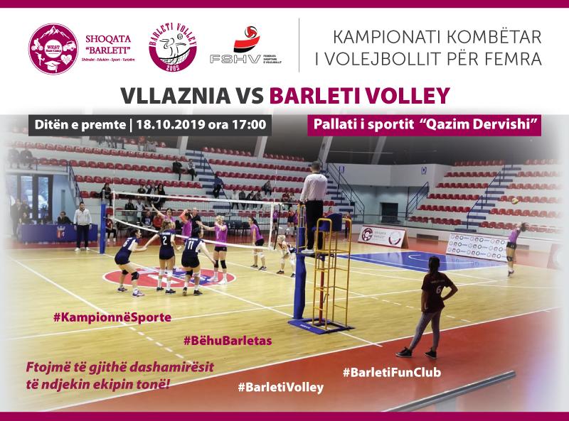 Vllaznia vs  Barleti Volley