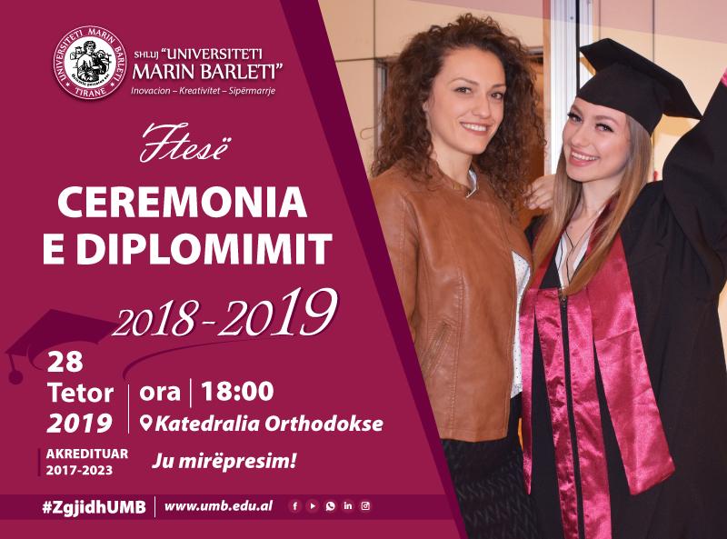 Ceremonia e Diplomimit 2018 - 2019